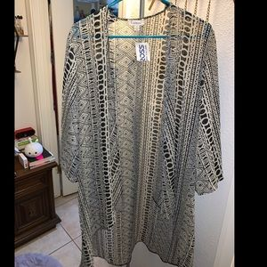 NWT Sheer Tribal print camisole